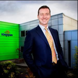 Gene Murtagh, the chief executive of global insulation maker Kingspan. Photo: David Conachy