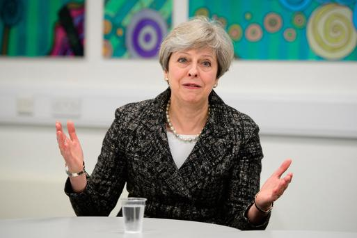 British Prime Minister Theresa May Picture: PA