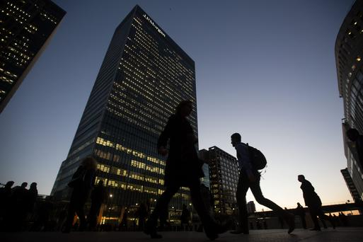 JPMorgan offices in Canary Wharf, London