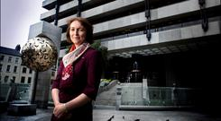 Central Bank Deputy Governor Sharon Donnery has been linked with a top job at the ECB. Photo: David Conachy