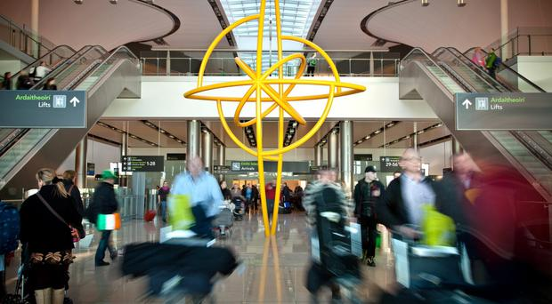 Record numbers pass through Dublin airport in April (File photo)