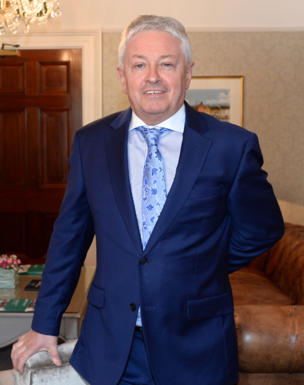 Billy Kane, the former chief executive of Irish Permanent. Picture: Justin Farrelly