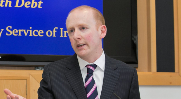 Insolvency Ireland boss Lorcan O'Connor encourages those in debt to seek help