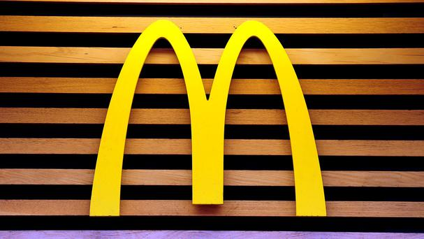 The fast food giant McDonald's is scaling back its head office operations in Ireland, with the business set to be managed from the UK. Photo: PA
