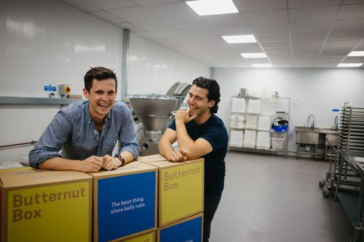 Butternut Box's Kevin Glynn and David Nolan