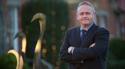 Investment: Bord na Móna chief executive Mike Quinn
