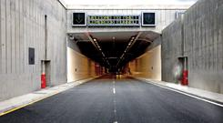 Entrance to the Limerick tunnel