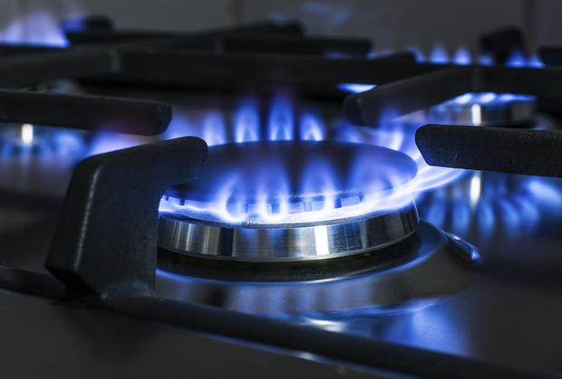 Weak sterling has continued to push down gas prices for Irish businesses. Thinkstock
