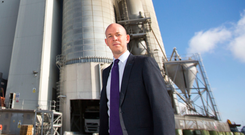 Micheal McKittrick of Ecocem is confident the firm's next generation cement can do well despite competition at home and the challenges from Brexit in the UK. Photo: Colin O'Riordan