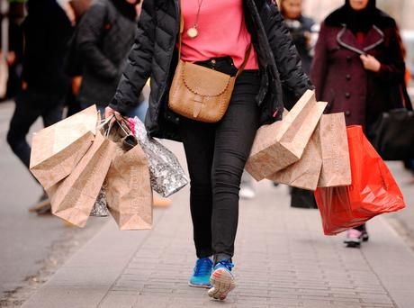 Clothing and footwear decreased due to sales