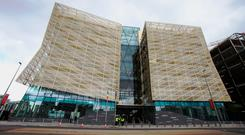 The Central Bank of Ireland's new Dublin headquarters. Photo: PA Wire
