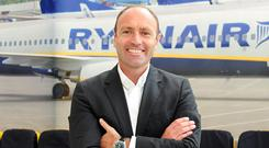 Ryanair's Kenny Jacobs