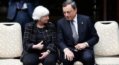 Janet Yellen and Mario Draghi will both speak at Jackson Hole