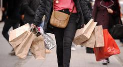 'The report noted that retail sales growth slowed to 3pc in the first half of this year.' (Stock image)
