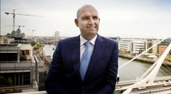 Barry Devereux is leading his firm into a new high-tech world