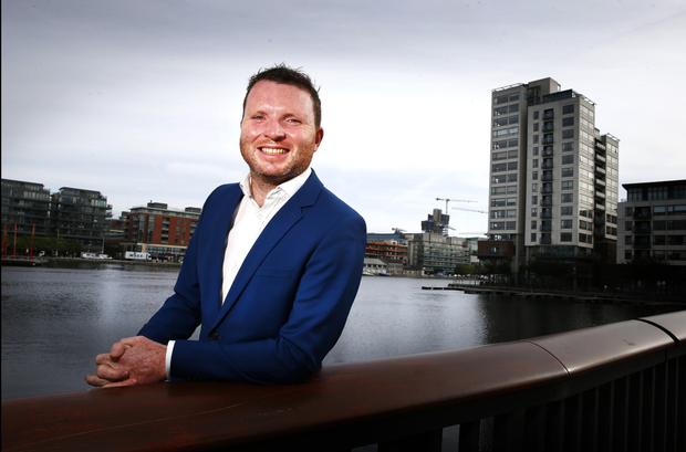 Derek F Butler, chief executive of Grid Finance, says the firm aims to become a new force in small business banking. Photo: David Conachy