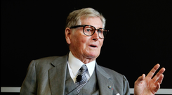 Michael Smurfit said his ability to lead from the front had stood him in good stead. Photo: Steve Humphreys