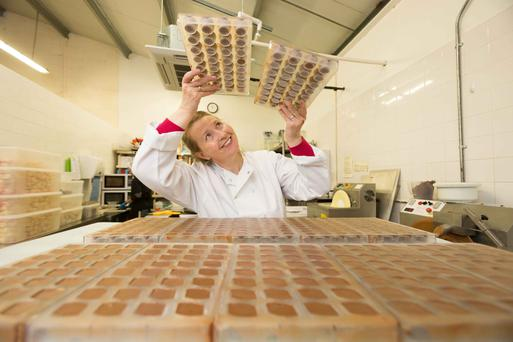 'People have a chocolate soul,' says Tricia Farrell of Wilde Irish Chocolates, Tuamgraney, Co Clare Photo: Eamon Ward