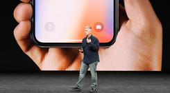 Iphone X launch event in California in September 2017