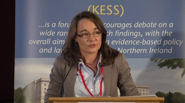 Katy Hayward of Queen's University Belfast, who warns that sorting out areas of co-operation is like 'unbaking a cake'
