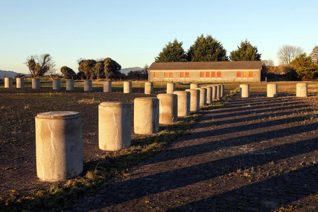 A disused customs post near the Border outside Dundalk. Picture: Bloomberg