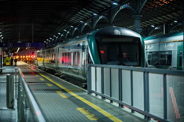 'CIE said it had taken the decision because its advertising contractor and its own bus and rail staff have been faced with aggression and abuse' Stock photo: Collins