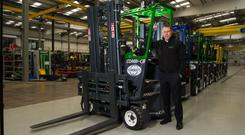 Martin McVicar, founder of Combilift. Photo: Rory Geary