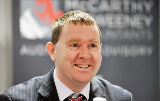 FAC chairman Seamus Coffey says a rate rise may be positive. Photo: Daragh Mc Sweeney/Provision