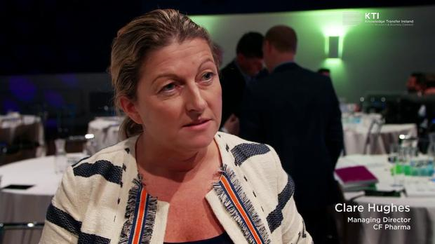 CF Pharma managing director Clare Hughes
