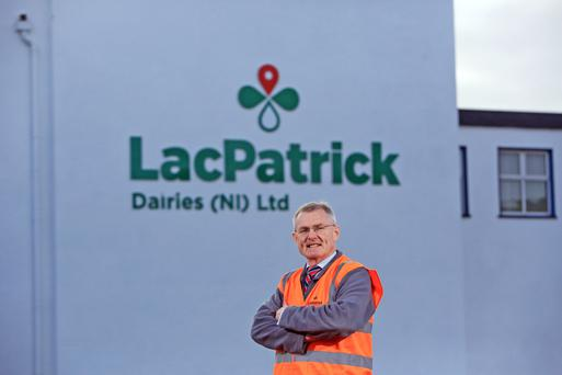Gabriel D'Arcy, chief exec of Lacpatrick. Photo/Paul McErlane