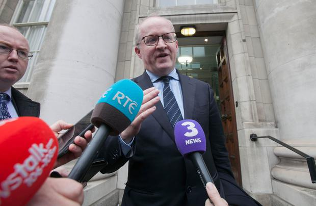 Central Bank Governor Philip Lanemay have eye on alternative role. Photo: Collins
