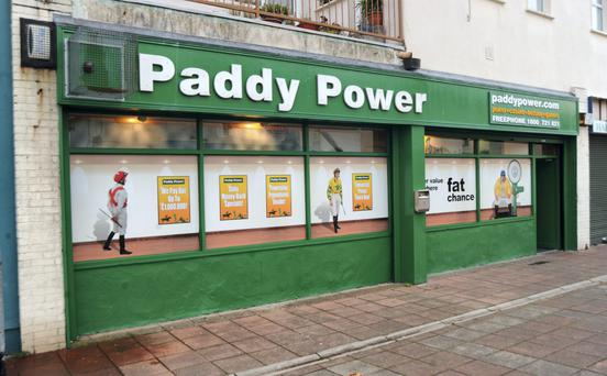 Paddy Power Betfair boss Peter Jackson says its shops are well-placed to survive a crackdown on fixed-odds terminals and are 'important social hubs'