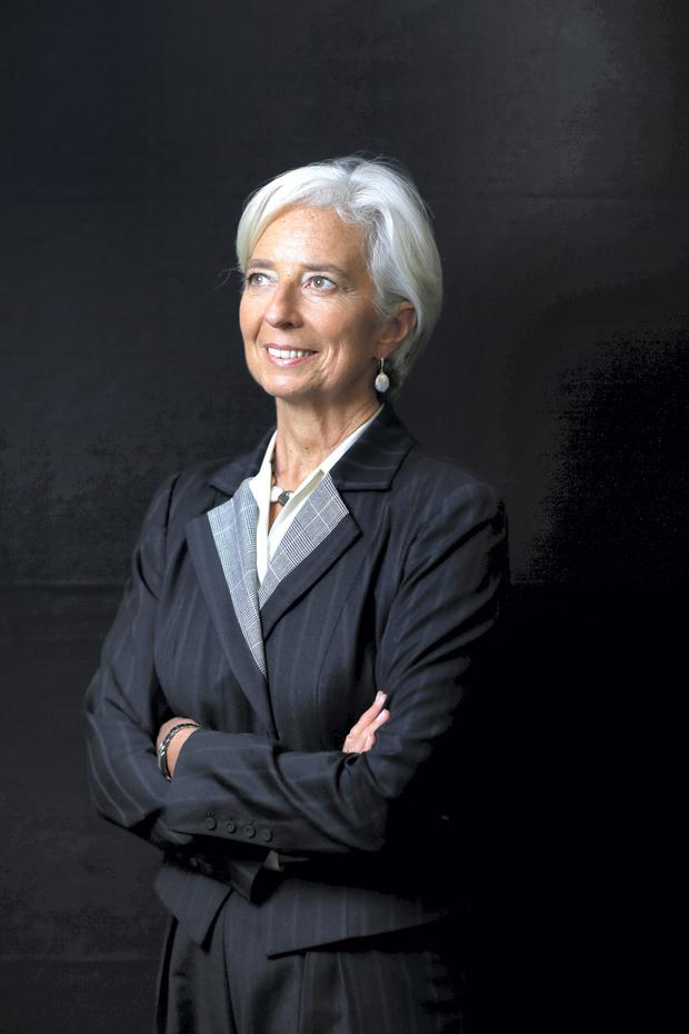 IMF boss Christine Lagarde. Photo: Bloomberg