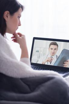 Patients need to be made aware of the potential dangers of using online and telemedicine services (Posed picture)