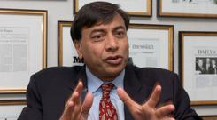 ArcelorMittal chief Lakshmi Mittal. Photo: Bloomberg News
