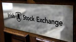 First quarter results for the Irish Stock Exchange show income of €8.5m, up 14.7pc compared to the same time in 2017. Photo: Bloomberg