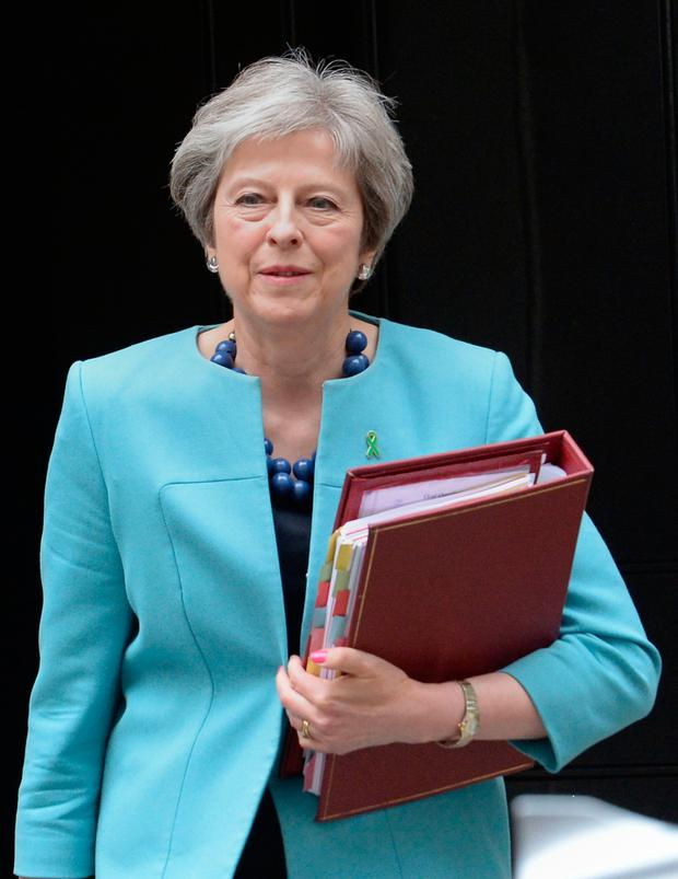 UK Prime Minister Theresa May. Photo: PA
