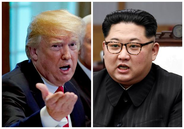 Trump and Kim Jong-un. Photo: Reuters