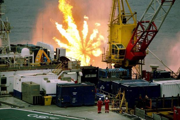 Barryroe drilling operation