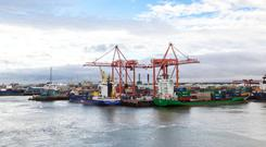 Dublin Port will have seen growth of 37pc in six years by the end of 2018, and says this highlights the need to build additional capacity at a faster rate