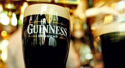 Guinness sales in Ireland grew 2pc in 12 months (Stock image)