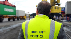 Dublin Port Photo: Bloomberg
