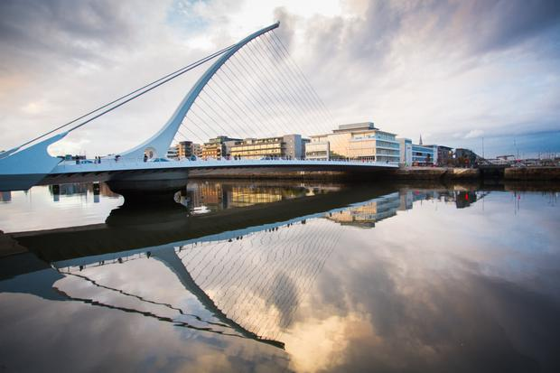 Dublin's docklands is at the centre of a boom in recruitment for financial firms