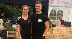 Evelyn Garland (24) and Luke Judge (26) of Simply Fit Foods