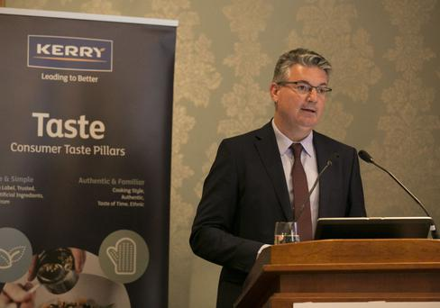 Kerry Group CEO Edmond Scanlon said it is ready to spend as much as €800m on acquisitions