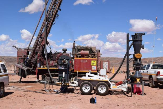 Mincon equipment in use in drilling in South Africa