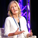 Catherine Moroney of AIB. Photo: Steve Humphreys