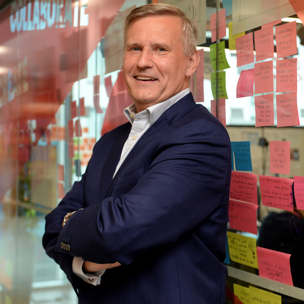Alastair Blair, country managing director for Accenture Ireland at its offices in The Dock in Dublin's Hanover Quay. Photo: Caroline Quinn