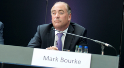 AIB chief financial offer Mark Bourke will leave the bank next year. Photo: El Keegan Photography