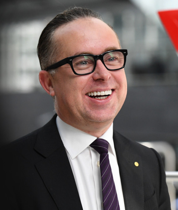 Alan Joyce. Photo: Getty